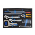 24PC.COMBINATION WRENCH SET FOR TOOL CHEST(EVE) KING TONY 9-91124MRV